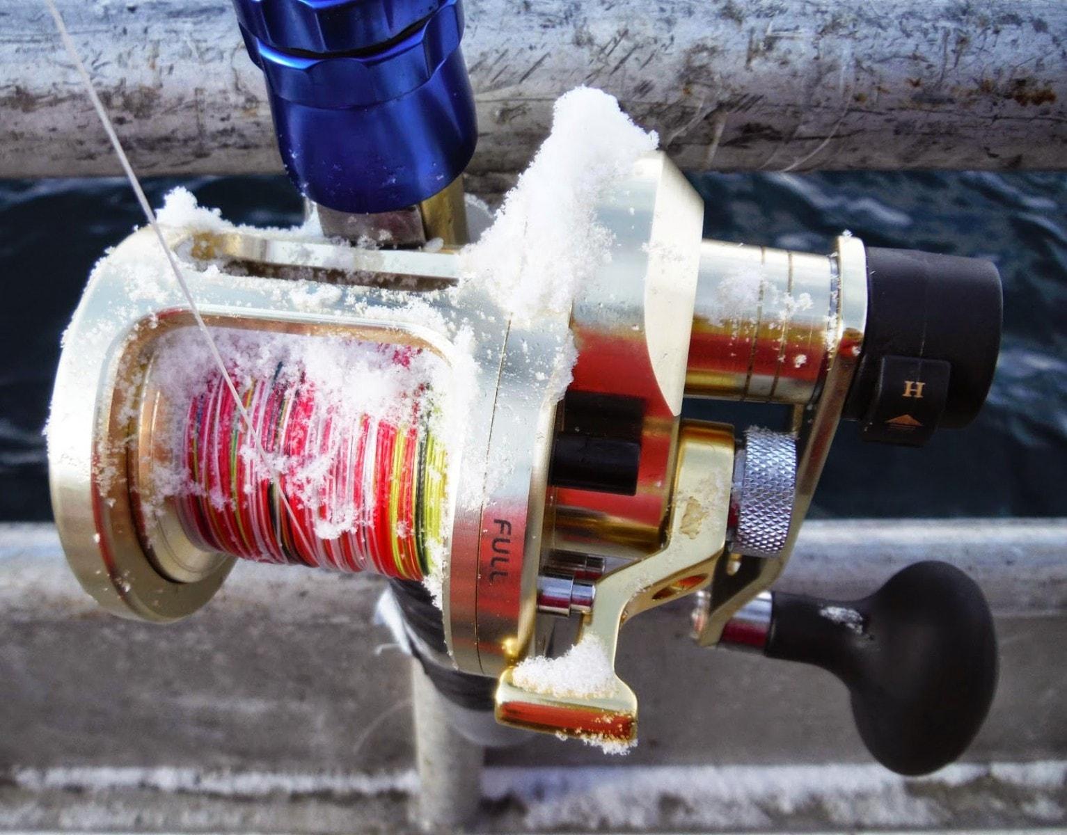 мультипликаторная катушка WFT Deep Water 12Wrh